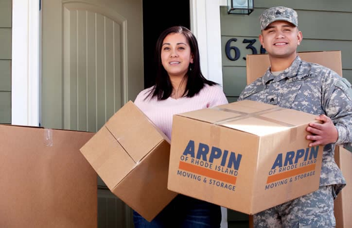 moving RI military family