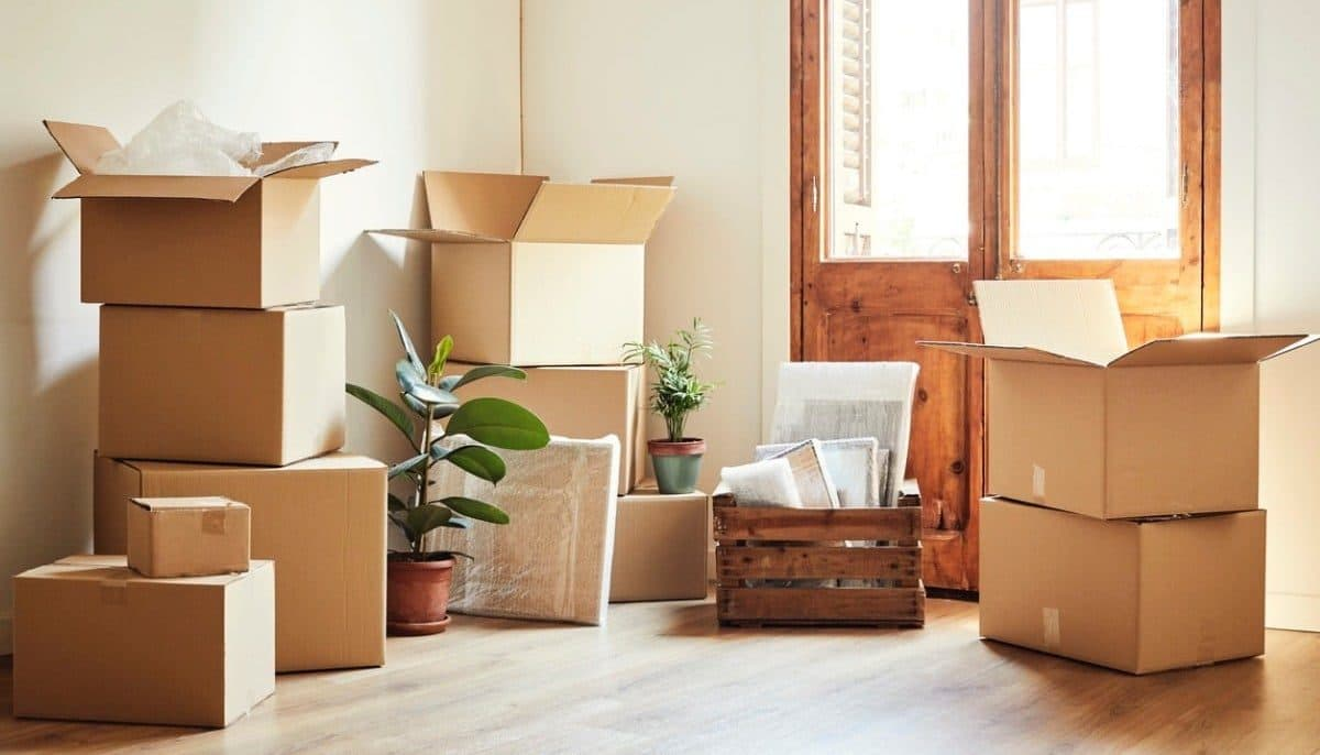 Moving Boxes Residentail