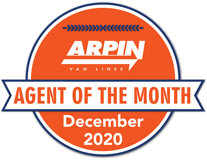 Arpin RI Moving Agent of the Month