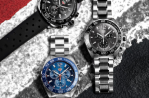 Array of very expensive men's watches