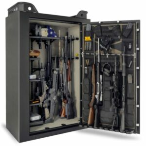 Fully loaded personal gun safe