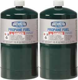 Propane cylinders that are prohibited on Arpin of RI shipments