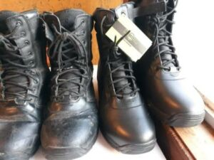 Durable work boots
