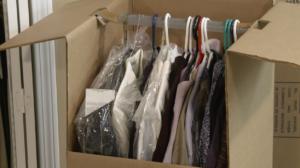 a fully packed Arpin of RI wardrobe.