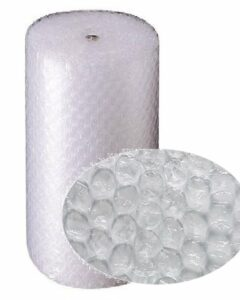 large roll of bubble wrap