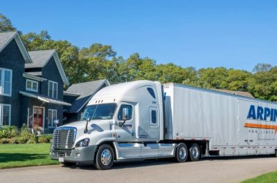Arpin long distance truck